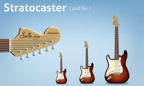 Stratocaster psd file