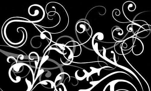 Bianco Swirls brushes
