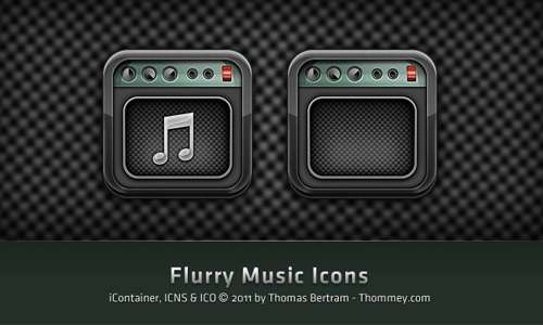 Flurry Music Icon