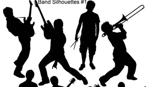 Band Silhouette HighRes