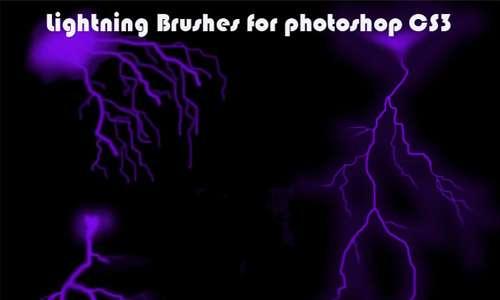 Lightning Brushes for CS3