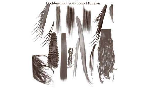 Hair Brushes adobe 7