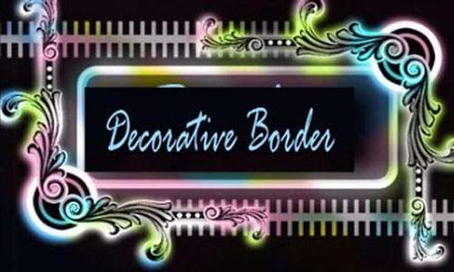 Decorative Border Brush