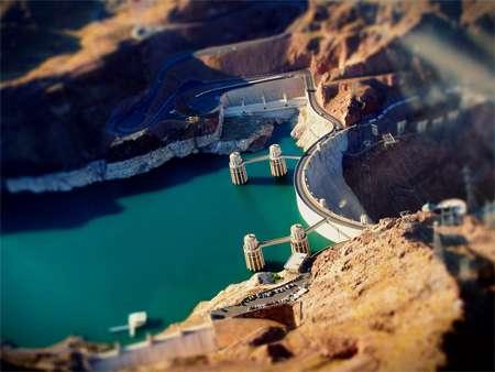 Hoover Dam in Miniature
