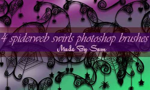 Spiderweb Swirls brushes