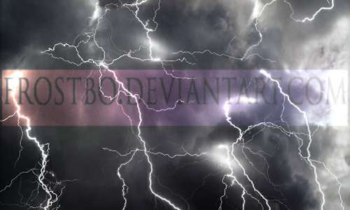 Lightning Brushes Photoshop