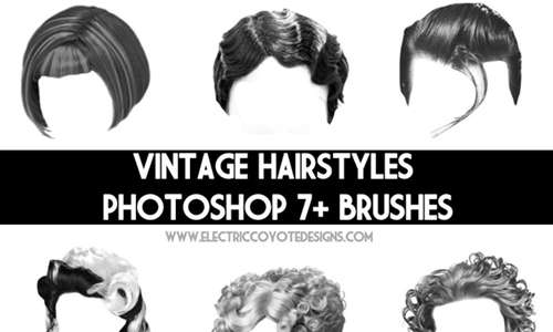 Vintage Hair Brushes