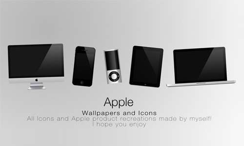 apple products walls