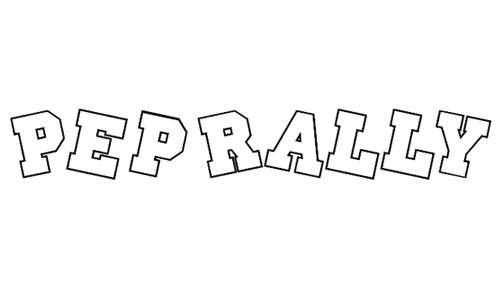 Pep Rally font
