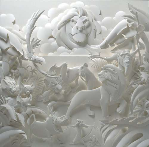 Excitingly Cool Paper Sculpture.