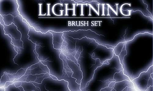 Lightning brush set