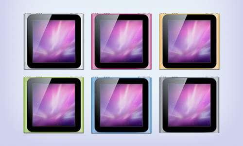 ipod nano 2010 icons