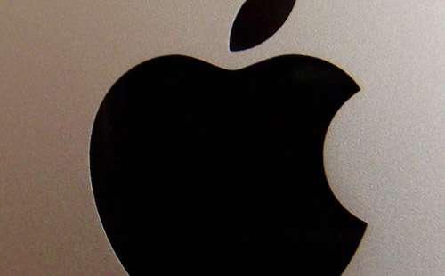 Big Apple Logo iPad Wallpaper