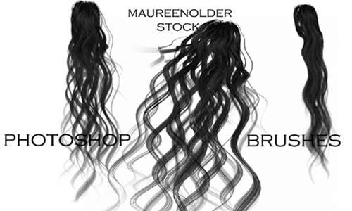 STOCK PHOTOSHOP BRUSHES hair4