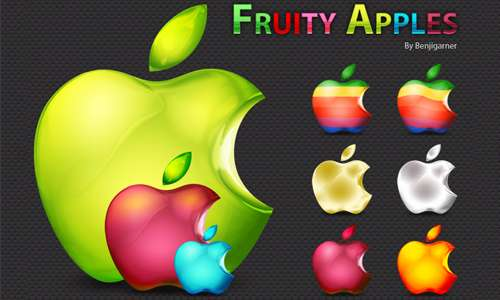 fruity apples