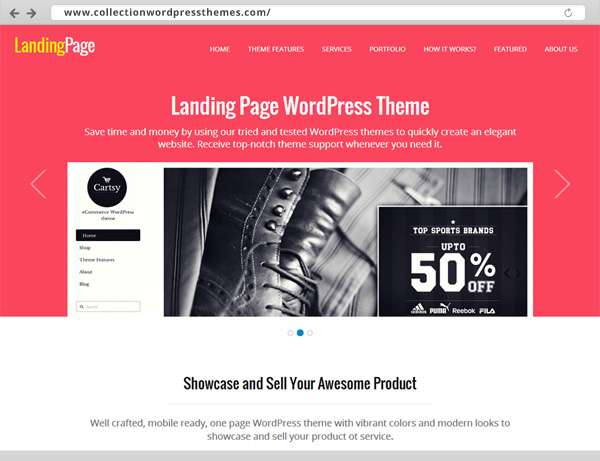 01-Landing Page WordPress Theme