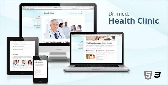 HC - Responsive Medical & Health WordPress Theme - Health & Beauty Retail