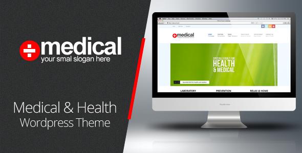 Medical - Premium WordPress Theme - Health & Beauty Retail