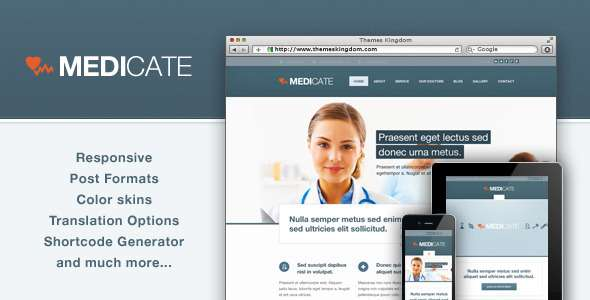 Medicate - Responsive Medical and Health Theme - Health & Beauty Retail