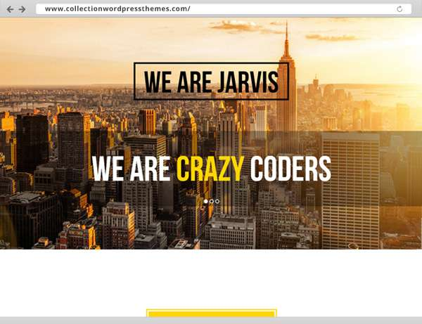 02-Jarvis - Onepage Parallax WordPress Theme