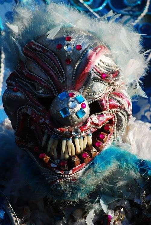Remarkably Creepy Halloween Mask