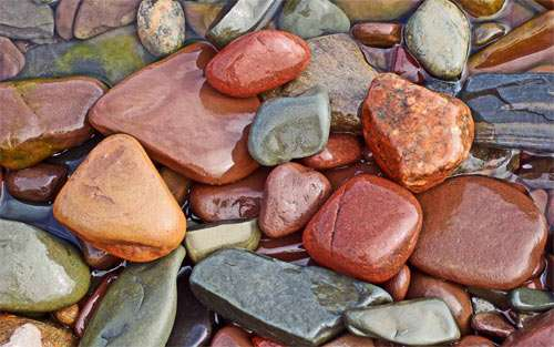 Colorful Stones_96626 Wallpaper