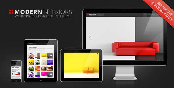 Modern Interior Responsive WordPress Theme - Corporate WordPress