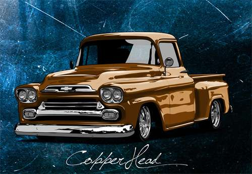 Copperhead cars vexels vectors illustrations
