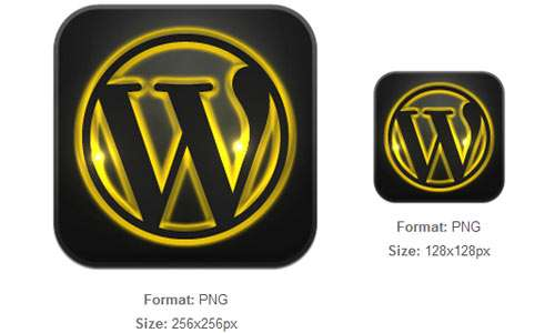 Golden Glow WordPress Icon
