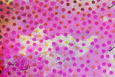 polka dot flower texture