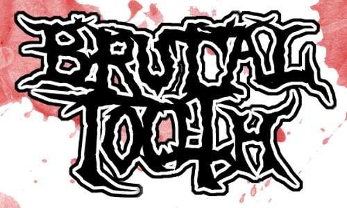Brutal Tooth font