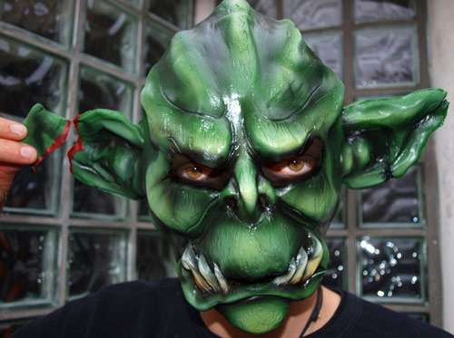 Nice But Scary Halloween Mask