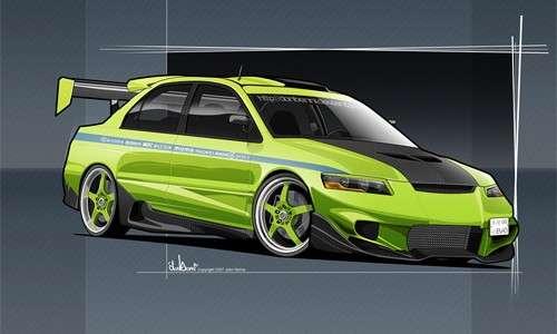 17-green-mitsubishi-cars-vexel-vector-illustration.jpg
