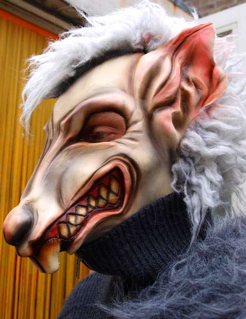 Freaky and Scary Halloween Mask