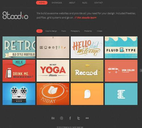 Stoodio - A minimal theme for lovable content