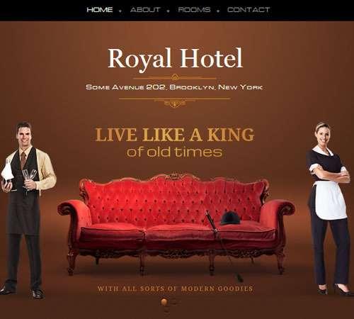 luxury hotel small