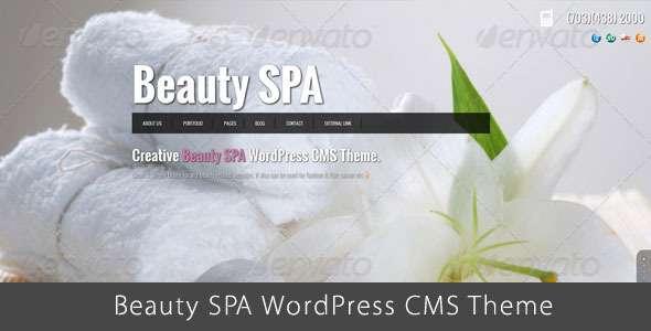 Beauty SPA - Ajaxified WordPress  CMS Theme - Health & Beauty Retail