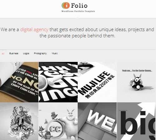 iFolio - Clean WordPress CMS Portfolio Theme