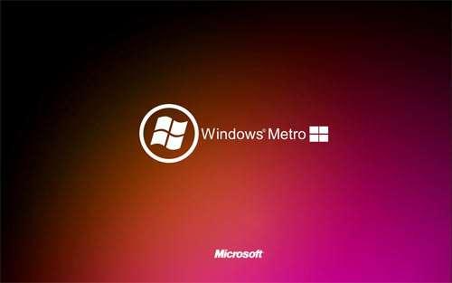 Windows Metro wallpapers