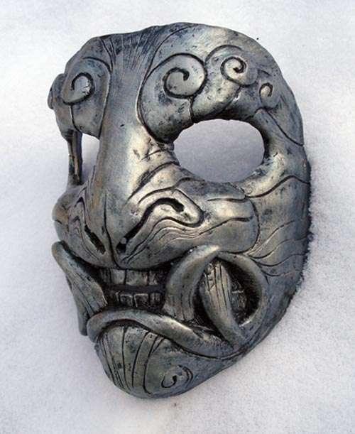 Full of Luck Halloween Mask