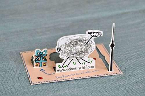 3D Unique Business Card
