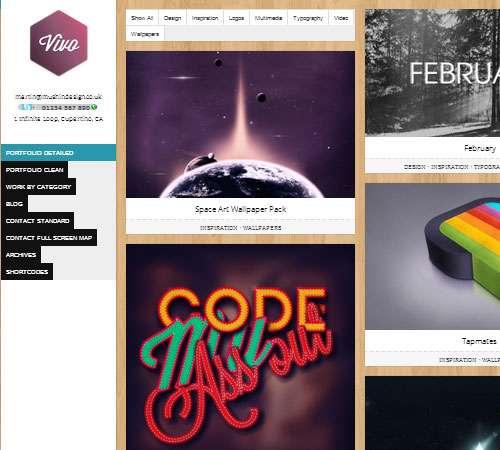 Vivo - Responsive WordPress Portfolio