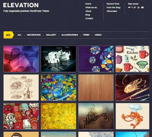 Elevation - Responsive WordPress Theme