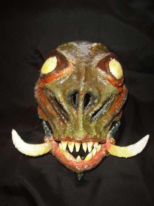 Detailed Halloween Mask