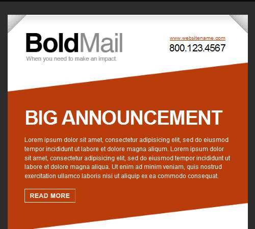 boldmail email template