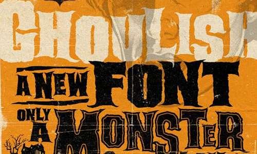 ghoulish font