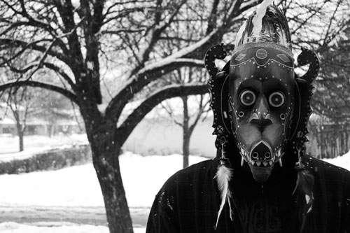 Shivering Halloween Mask