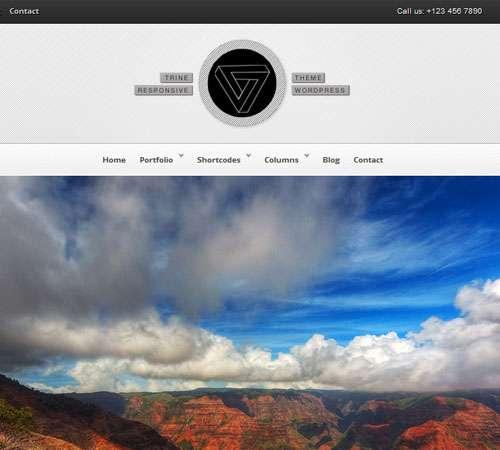 Trine Responsive WordPress Theme