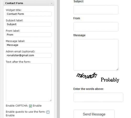 WPContact - AJAX Contact Form