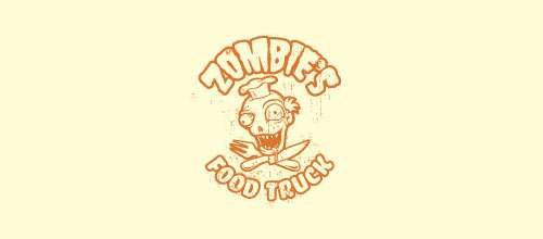 Zombie Food Truck logo